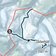 Karte / Zuckerhütl vom Isidornieder