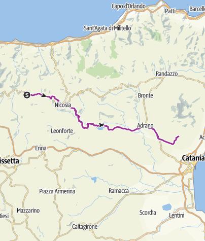 Karte / Relo Solar 3. Etappe