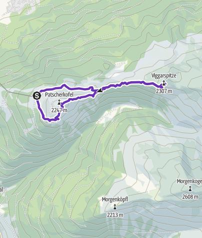 Cartina / Zirbenweg 10km