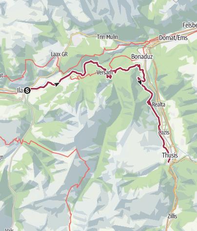 Karte / Transruinaulta 22. Oktober 2016