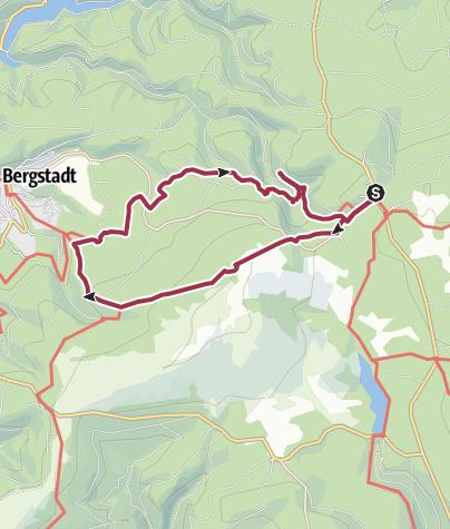 Karte / Harzer Wandernadel Tour 3 - Torfhaus (135,134,149,133,221)