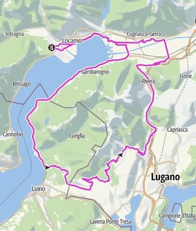 Karte / Das Monster von Malcantone