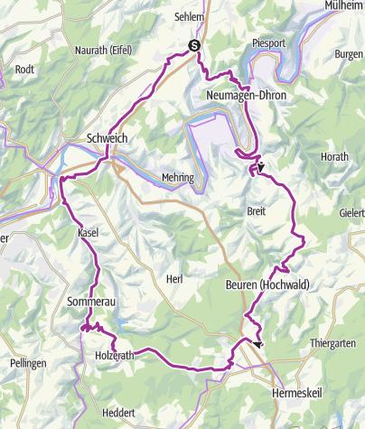 Karte / Reinsfeld