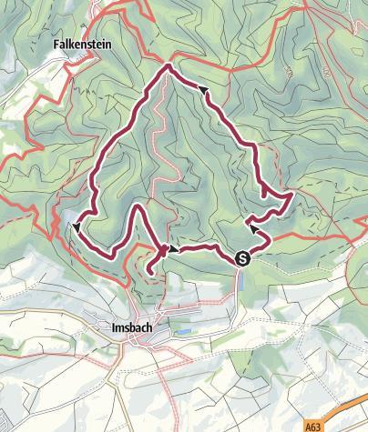 Karte / imsbach 9 km