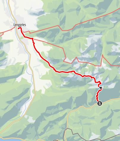 Karte / Rossstein und Buchstein mit Bahn und Bus