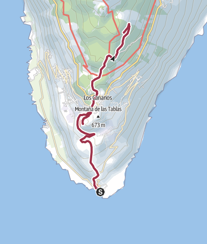 Map / GR 131 dag 1