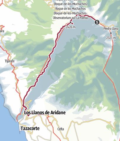 Map / GR 131 dag 4