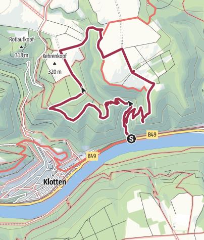 """Karte / """"Eidechsen-Rundweg"""" oder Dortebachtal"""""""