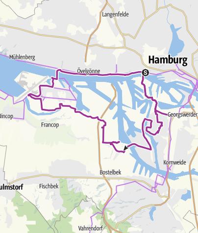 Hamburger Hafen - Entdecker Tour • Radtour » outdooractive.com