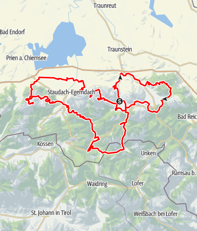Map / Chiemgau KING MTB | official original | Ruhpolding | chiemgau-king.com | #RIDETOBEKINI