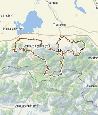 Karte / Chiemgau KING MTB