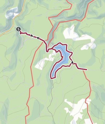 Karte / Eckertalsperre