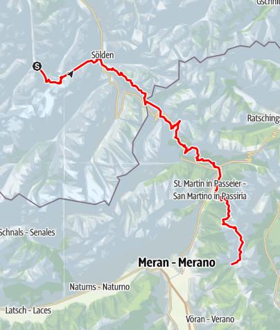 Map / Mittelberg-Meran 2000