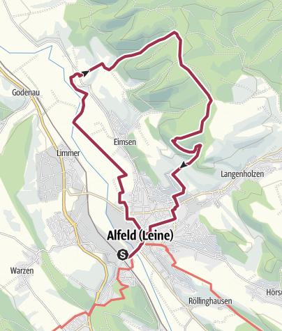 מפה / Tourenplanung am 4. Dezember 2016