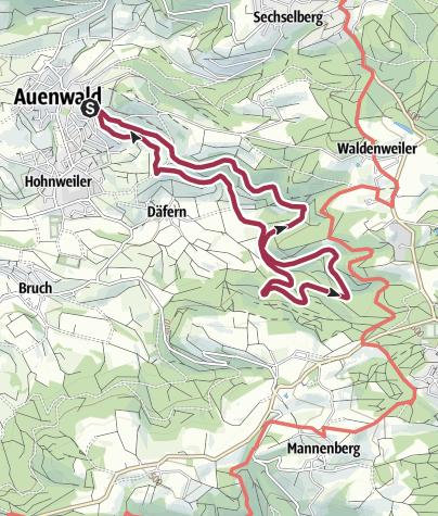 Karte / Auenwald - Ebersberger Weinberge