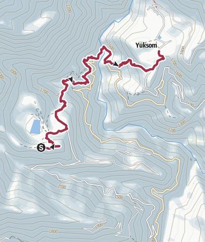 Karte / 2. Khecheopalri Lake – Yuksom