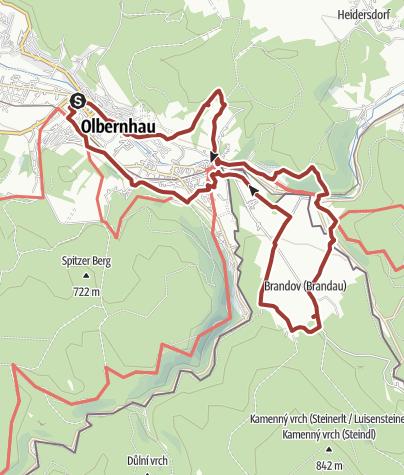 Karte / Auf den Spuren der Bergleute