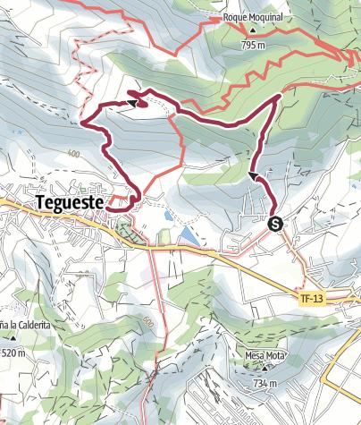 Map / Tegueste from Pedro Alvarez via La Orilla