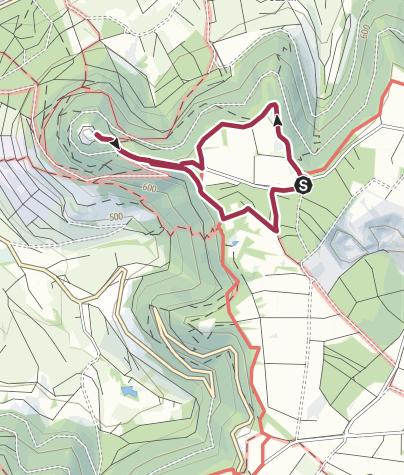 Map / Hohenneuffen Short Hike