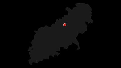 Karte / Bertaburg und Sielenwang - Albtrauf im Winter