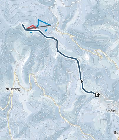 Mappa / Auf den Belchen