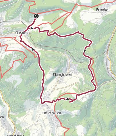 Map / B+H-2018-03-01: vom Schinkenwirt zu dn Bruchhausener Steinen
