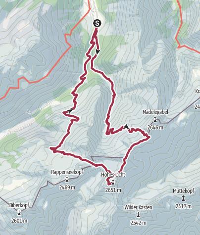 Map / Heilbronner Höhen Weg