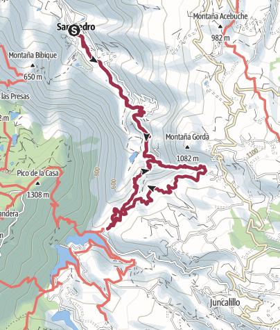 Karte / Gran Canaria - Rundtour Agaete Tal