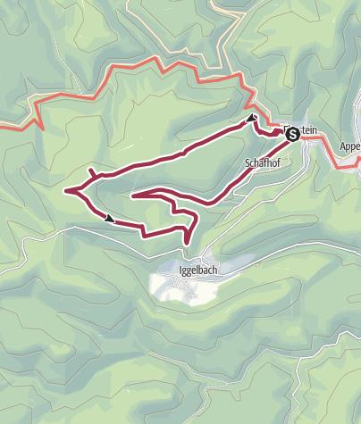 Karte / Elmstein Rundweg 8 (Zum Kurfürstenstuhl)