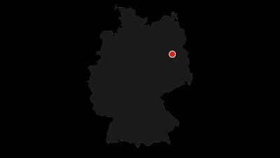Karte / Von Berlin-Grunewald durch den Grunewald am Teufelsberg vorbei nach Pichelsberg