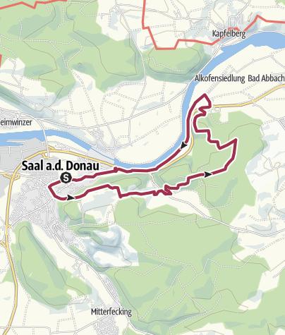 Karte / Saalrunde