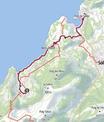 Map / B+H-2017-04-25-Mallorca: Deia - Pt. Soller