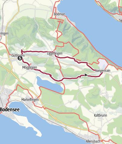 Map / Rundweg Güttingen