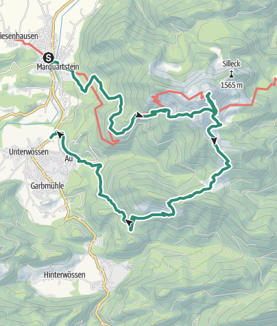 Map / Hochgern Winter Hike