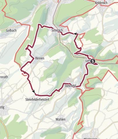 Kalter Krieg Karte.Ne Römer Ruinen Kloster Und Kalter Krieg 14 8 Km 472 Hm