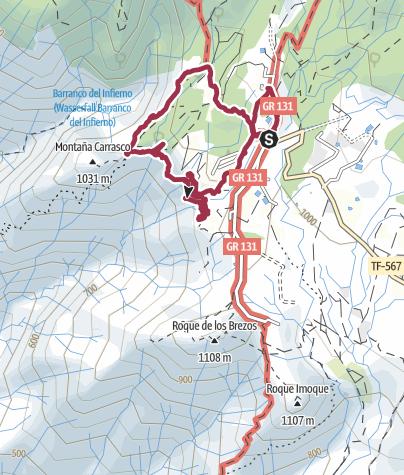 Karte / 13. Februar 2017 Ifonche Rundwandertour