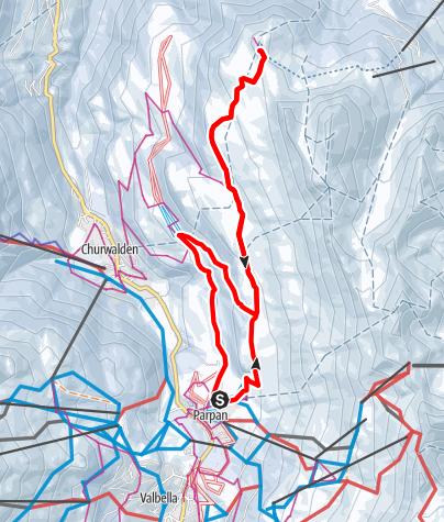 Map / Parpan-Jochalp, Lenzerheide