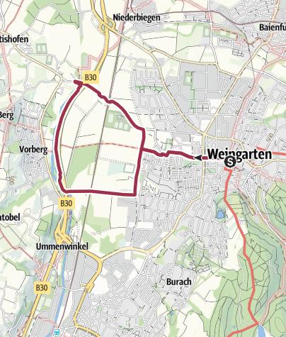Karte / Schussen-Tour
