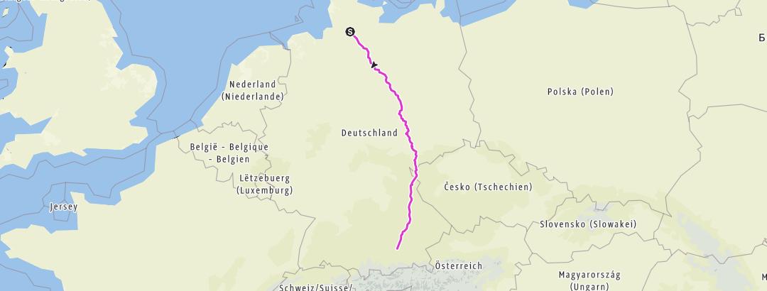 Karte / 2017-Elmshorn-München PLAN 17.02.17