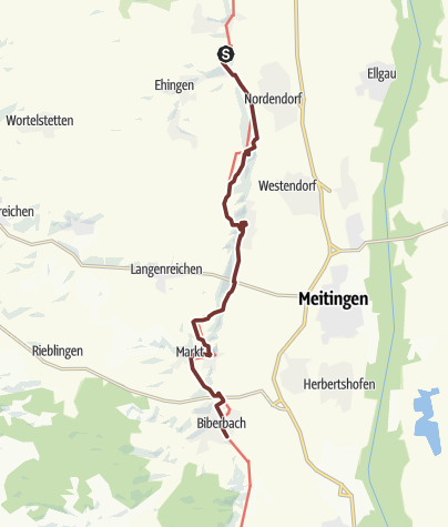 Karte / Kloster Holzen - Biberbach