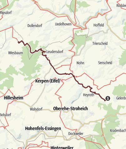 Karte / Chesterton 2d Bongard - Mirbach