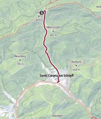 Karte / Schöpflhütte