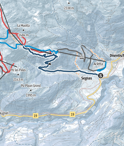 Karte / Dynafit Trail Disentis