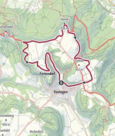 Karte / HochAlbPfad Tieringer Hörnle