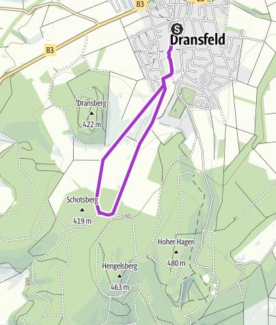 Karte / ASV Hasenmelkerlauf 5km