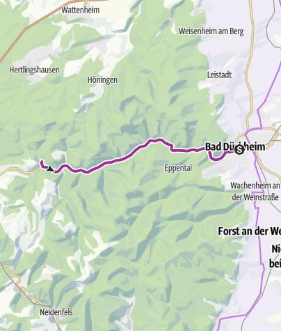 Karte / Im Jägertal