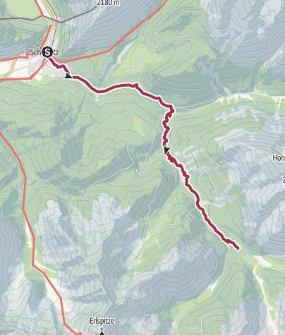 Karte / Gleirschklamm 3. September 2011