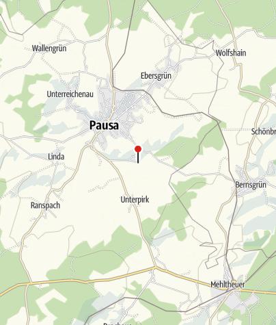 """Karte / Freizeitanlage """"Freibad Pausa"""""""