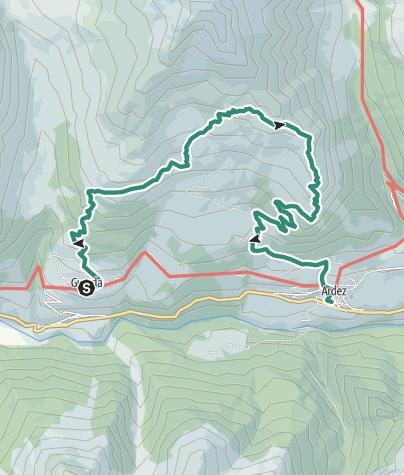 Map / Chamonna Cler