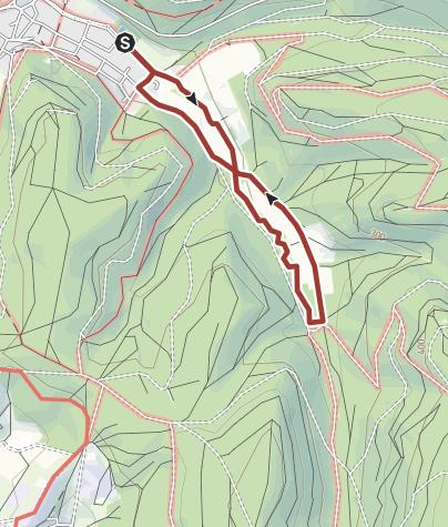 地图 / Wasserpfad im Sulzbachtal, Lahr-Sulz